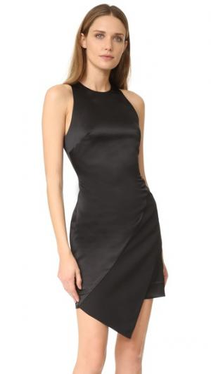 Мини-платье без рукавов Peyton AQ/AQ. Цвет: белый