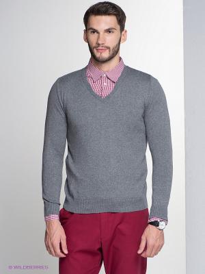 Пуловер HAMAKI-HO. Цвет: темно-серый