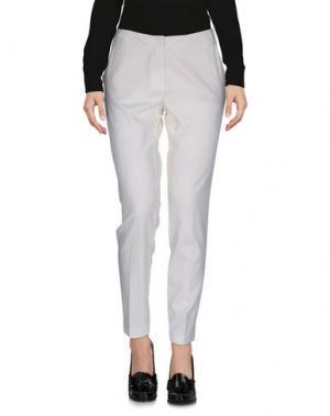 Повседневные брюки CARLA G.. Цвет: слоновая кость