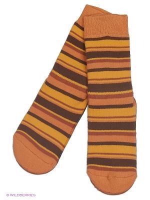 Носки Sterntaler. Цвет: оранжевый