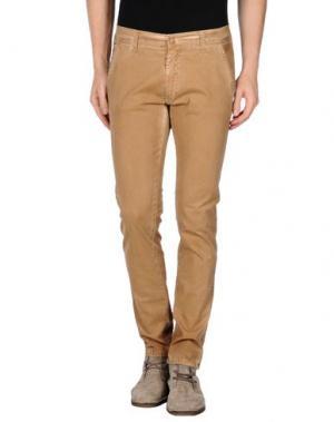 Повседневные брюки MINIMAL. Цвет: верблюжий