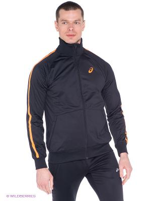 Толстовка ASICS. Цвет: черный, оранжевый