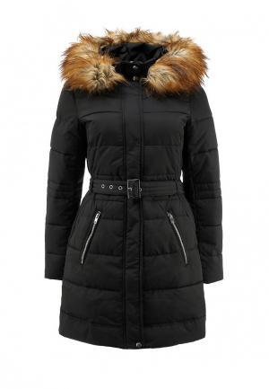 Куртка утепленная Warehouse. Цвет: черный