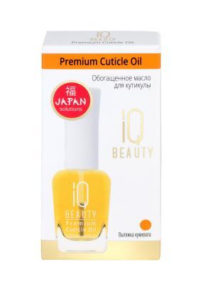 Обогащённое масло для кутикулы /  Premium Cuticle Oil IQ BEAUTY. Цвет: золотистый
