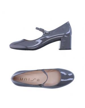 Туфли UNISA. Цвет: серый