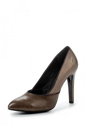 Туфли Gas. Цвет: коричневый