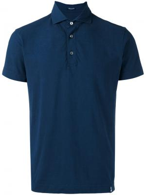 Classic polo shirt Drumohr. Цвет: синий