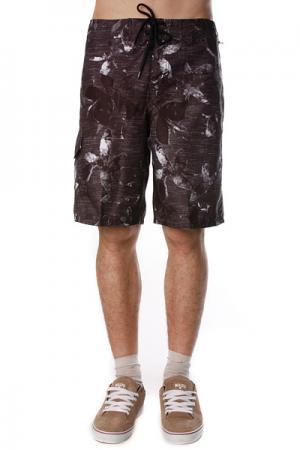 Пляжные мужские шорты  Palau Boardie Black Ezekiel. Цвет: черный