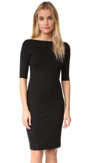 Платье Roux с молнией на спине L'AGENCE. Цвет: голубой