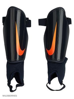 Щитки CHARGE 2.0 Nike. Цвет: черный, рыжий