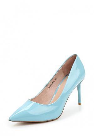 Туфли Ivolga. Цвет: голубой
