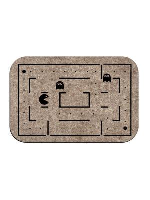 Коврик придверный Pac-Man MoiKovrik. Цвет: темно-бежевый