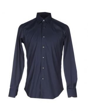 Pубашка ALESSANDRO GHERARDI. Цвет: темно-синий