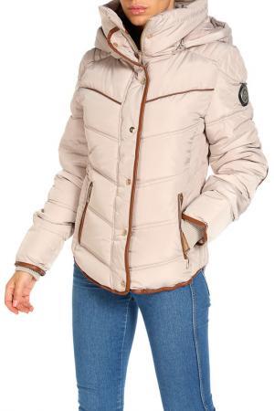 Куртка Geographical norway. Цвет: бежевый