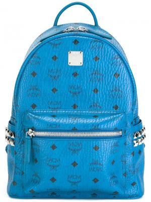 Маленький рюкзак Stark MCM. Цвет: синий