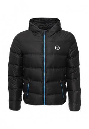 Куртка утепленная Sergio Tacchini. Цвет: черный
