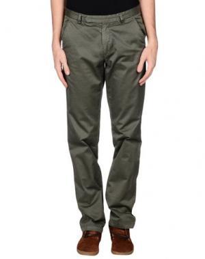 Повседневные брюки ORIGINAL VINTAGE STYLE. Цвет: зеленый-милитари