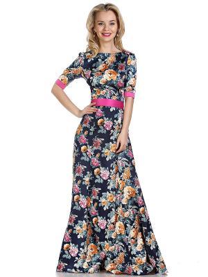 Платье OLIVEGREY. Цвет: черный, темно-синий, фуксия