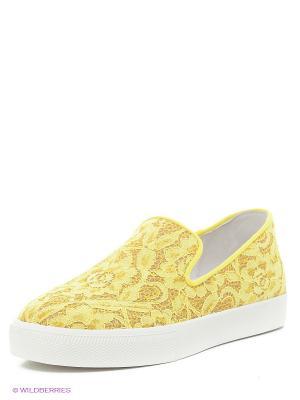 Кеды ASH. Цвет: желтый