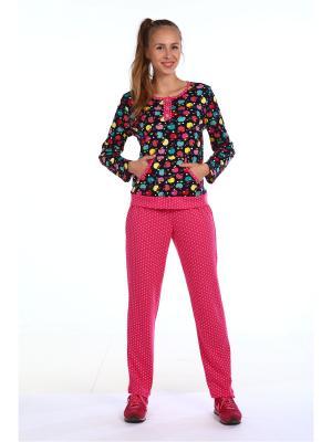 Пижама Pastilla. Цвет: розовый