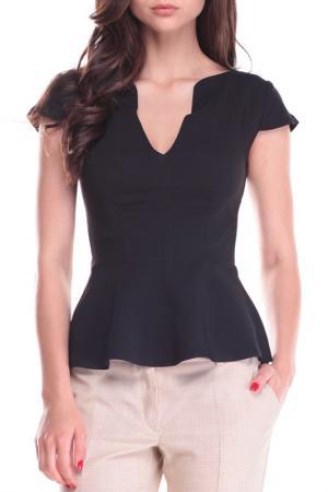 Блуза Dioni. Цвет: черный