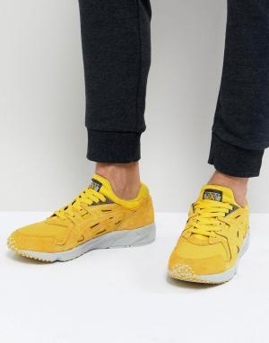 Asics Желтые кроссовки Gel-Ds OG H841L-0404. Цвет: желтый