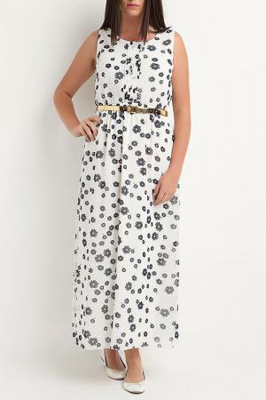 Платье CLAUDIA MILLEN. Цвет: белый
