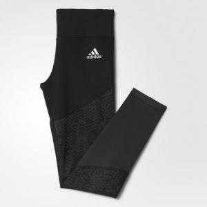 Леггинсы WOW  Performance adidas. Цвет: черный