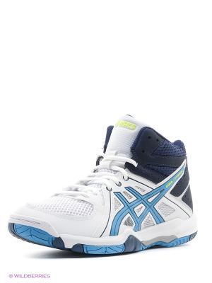Спортивная обувь GEL-TASK MT ASICS. Цвет: белый, синий, желтый