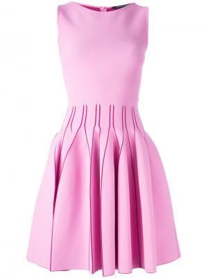 Платье Flora Antonino Valenti. Цвет: розовый и фиолетовый