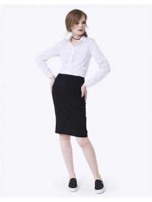 Блузка LO. Цвет: белый