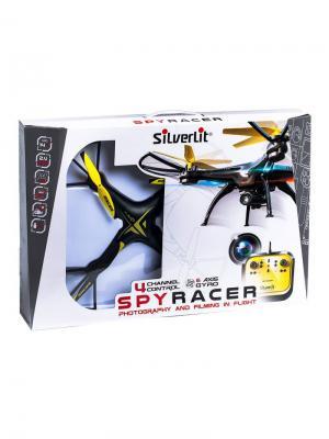 Квадрокоптер Спай Рэйсер на р/у 31см Silverlit. Цвет: черный, желтый