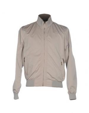 Куртка MOORER. Цвет: бежевый
