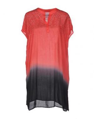 Короткое платье BRAND UNIQUE. Цвет: красный