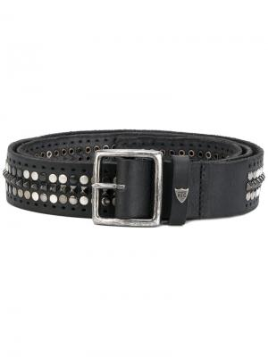 Studded buckle belt Htc Hollywood Trading Company. Цвет: чёрный