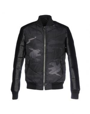 Куртка SSEINSE. Цвет: свинцово-серый