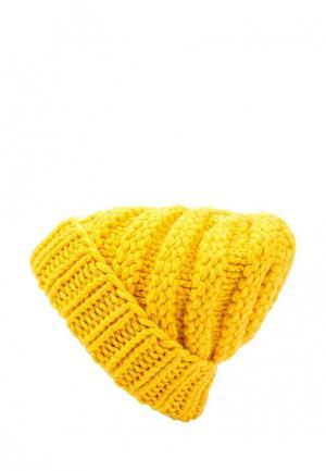 Шапка Fete. Цвет: желтый