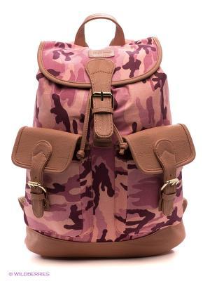 Рюкзак Mario Ponti. Цвет: сиреневый, коричневый