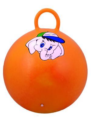 Мяч-попрыгун STARFIT GB-401 45 см Слоненок, с ручкой, оранжевый 1/10. Цвет: оранжевый