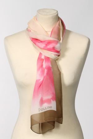 Палантин Pollini. Цвет: розовый, бежевый