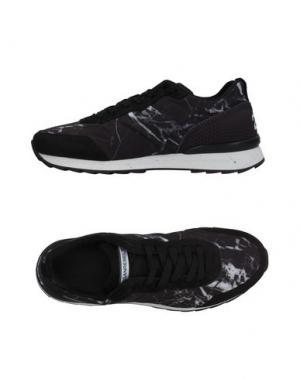Низкие кеды и кроссовки HOGAN. Цвет: черный