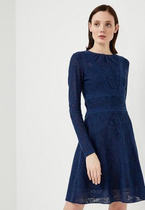 Платье M Missoni. Цвет: синий