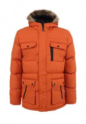 Куртка утепленная Brave Soul. Цвет: оранжевый