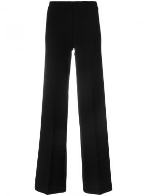 Расклешенные брюки P.A.R.O.S.H.. Цвет: чёрный