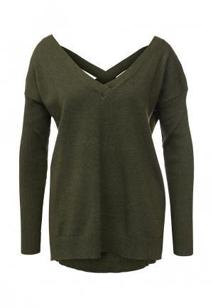 Пуловер MinkPink. Цвет: зеленый