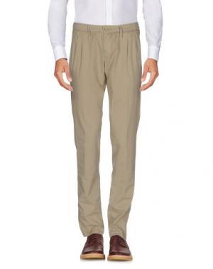 Повседневные брюки ZERO. Цвет: бежевый