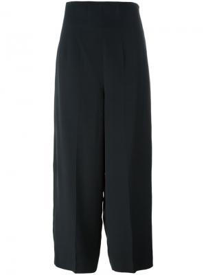 Широкие брюки Christian Lacroix Vintage. Цвет: чёрный