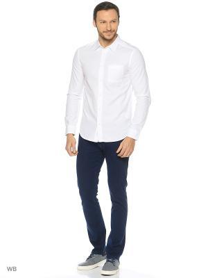Рубашка Wrangler. Цвет: белый