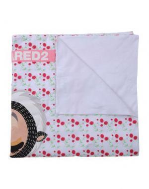 Одеяло DSQUARED2. Цвет: белый