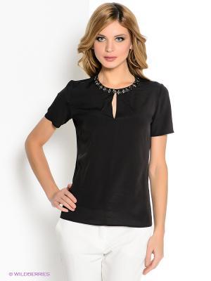 Блузка MICHELLE WINDHEUSER. Цвет: черный